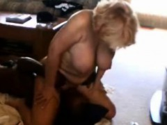 Mature blonde wife interracial facesitting