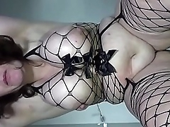 fucked from behind,swinging tits and dripping creampie 4a - Creamza.com