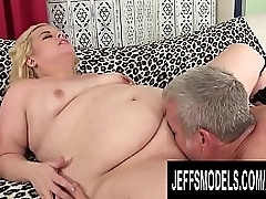 Plumper Blond Dream Gets Pumped Full of Seed
