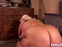 SSBBW cockriding before facial cumshot