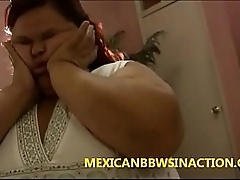 bbw latina internal cum creampie