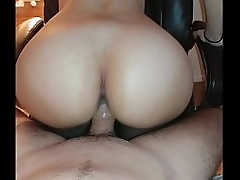 PAWG Unreal Hot Riding Perfect Booty Big Ass On Chair