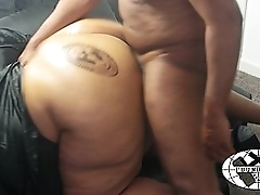 Poundhard branded huge booty pounded out. poundhardxxx.com
